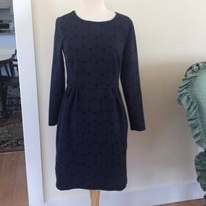 Boden geometric dress size 8